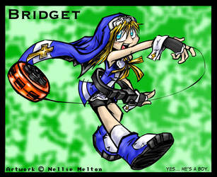 Fanart- Bridget by spookydoom