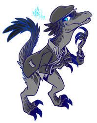 Raptor Echo! by spookydoom