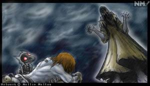Fanart- No Forgiveness... by spookydoom