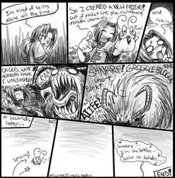 Comic- Making Friends by spookydoom