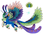 MLP- Peafowl Princess by Amelyanna