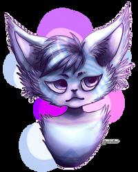 Spiral the kitty cat by Amelyanna