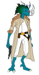 Fosh Rebel Leader by Darthnazrael