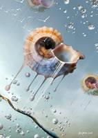 Flying shell by tredowski