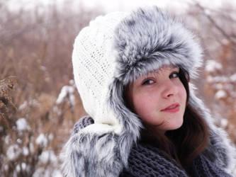 winter portrait. by Kicurek1702