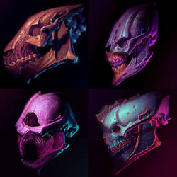 Funky Skullz from the Funky Depthz by LostKeep