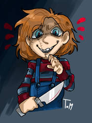 Chucky by TomMaccal