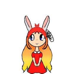 bunny girl :3 by HappyPandaAlyak