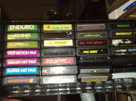 UPDATED My Atari Games so far by Sega32x
