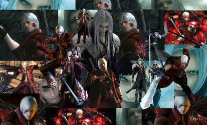 FINAL FANTASY AND DMC by sephiroth6000