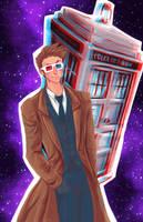 Doctor Who 3D by Tsubasa-No-Kami