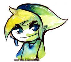 Link Wind Waker Legend of Zelda by Tsubasa-No-Kami
