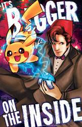 Doctor Who vs Pokemon Bigger on the Inside by Tsubasa-No-Kami