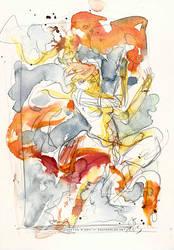 The Legend of Korra Watercolor by Tsubasa-No-Kami