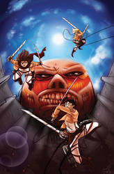 Attack on Titan by Tsubasa-No-Kami