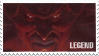 Stamp - Legend - Darkness by BelieveInMagic