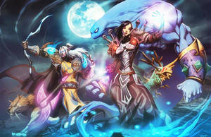 Warcraft - Blades of destiny by GENZOMAN