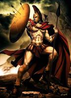 Leonidas by GENZOMAN