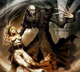 Nosferatu - Count Orlok by GENZOMAN