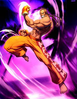 Street Fighter - Dee Jay by GENZOMAN