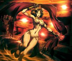 Mata Hari by GENZOMAN