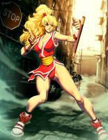 Street fighter - Maki by GENZOMAN