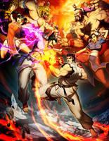 Street Fighter X Tekken by GENZOMAN