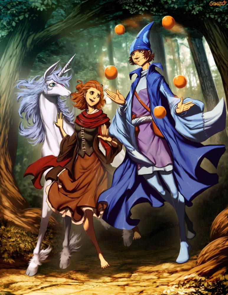 The Last Unicorn by GENZOMAN