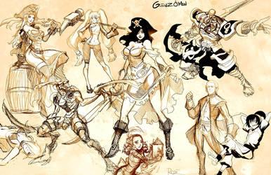 Sketch dump 3 by GENZOMAN