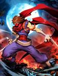 Strider Hiryu by GENZOMAN
