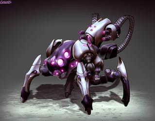 Rebot - Mecha by GENZOMAN
