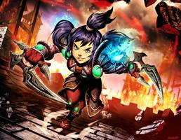 Warcraft - Abbie Whizzleblade by GENZOMAN