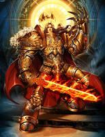 Warhammer - Emperor of Mankind by GENZOMAN