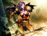 Warcraft - Shadowstalker by GENZOMAN