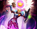 Warcraft - Blood Knight Adrenna by GENZOMAN