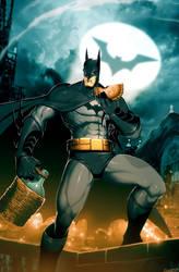 Batman The Empanada Knight by GENZOMAN