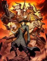 The Saga of The Dragon Star - The Keln Dominion by GENZOMAN
