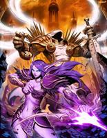 Warcraft X Diablo by GENZOMAN
