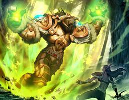 Warcraft - Mark of Cenarius by GENZOMAN
