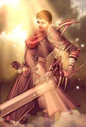 seba knight by GENZOMAN