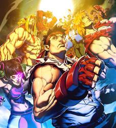 Super Street Fighter Vol 1 by GENZOMAN