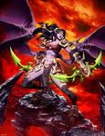 Warcraft - Demon Hunter by GENZOMAN