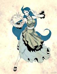 Zelda - Nayru Sketch by GENZOMAN