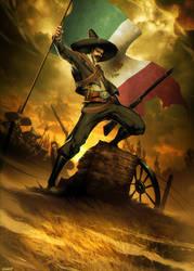 Mexico - Tierra y Libertad by GENZOMAN