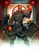 Red Skull by GENZOMAN