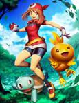 Pokemon - May by GENZOMAN