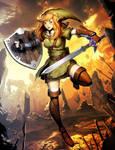 The Legend of Zelda - Linkle by GENZOMAN