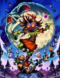 Zelda - Majoras Mask by GENZOMAN