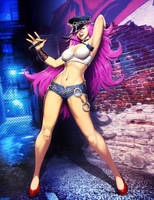 Street Fighter - Poison by GENZOMAN