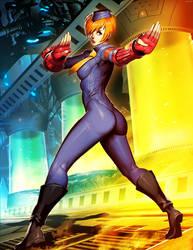 Street Fighter - Juni by GENZOMAN